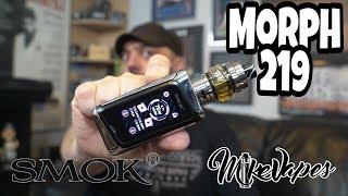 Alien v2? Smok Morph 219 Package Overview