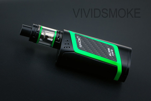 Smok Alien 220w Package with TFV8 Baby Tank Green