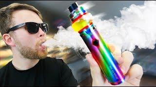 This New SMOK Stick Chucks Critical Clouds! SMOK v9 MAX Package!