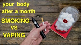 How Using tobacco vs Vaping Impacts Your Lungs ● You Have to See This ! !