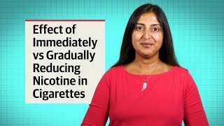 Smoking cigarettes Cessation: The Effect of Instantly vs Steadily Lowering Nicotine in Cigarettes