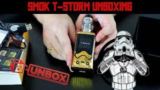 SMOK T-Storm UNBOXING! | A New StormTrooper Mod Just In Time!