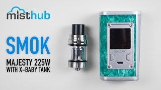 The SMOK Majesty 225W TC Package Unboxing and Quick Merchandise Overview
