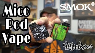 Smok Mico Pod Vape Package Overview