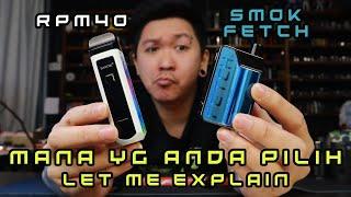 SMOK FETCH full overview / comparison / tutorial macam mana nak pakai (bahasa melayu variation)