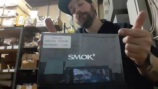Unboxing Smok TFV16 9ml Tank ( Black Plating Edition ) First Look Vape Overview