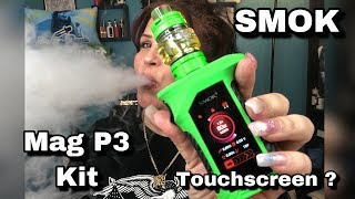 Touchscreen? SMOK Mag P3 Package with TFV16 Tank