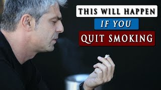 WHAT Occurs when you Give up Using tobacco cigarettes
