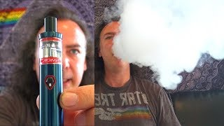 Space Filling Clouds on the New Smok Vape Pen Nord 19 Kit! | &amp Zamplebox! | IndoorSmokers