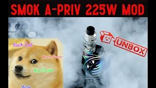 SMOK A-Priv Unboxing! The NEW Mod Dances With Music?!?