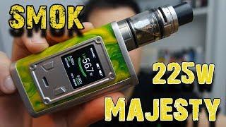 SMOK: Majesty 225W Box Mod + Tfv8 X Little one – E dymek