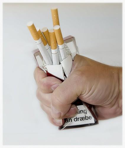 kvit cigaretterne – Give up using tobacco
