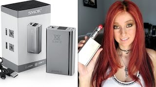 Smok X Dice II two Evaluation 160w Temperature Manage Bluetooth Box Mod with LED lights!!!