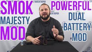 SMOK Majesty Resin Twin Battery Box Mod ~ Vape Review   Item Spotlight
