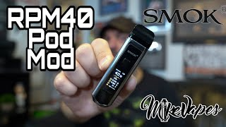 Smok RPM40 Pod Mod AIO Package Overview