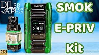 SMOK E-PRIV Package Overview