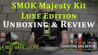 SMOK Majesty Package Luxe Edition w/ TFV12 Prince – Unboxing &amp Assessment