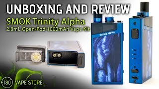 SMOK Trinity Alpha Package – Box Type Pod Technique w/ Nord Coils
