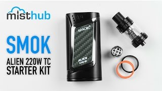 The SmokTech Alien 220W Kit [Unboxing + Fast Overview]