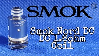 Smok Nord NEW DC Coil .six ohm Overview