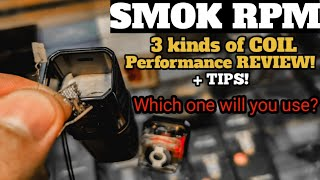 Smok RPM coils (unboxing evaluation + guidelines on how to soak up moist)🇵🇭
