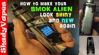 How to Polish a Smok Alien – How to make it search new🆕 and shiny💎 again – Strip and Polish Tutorial