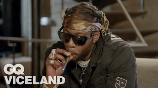 2 Chainz Checks Out the Most Expensivest Vape Pens | Most Expensivest | GQ &amp VICELAND