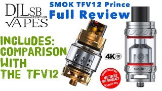SMOK TFV12 Prince Total Evaluation and Comparison with the TFV12 – So significantly better!!!