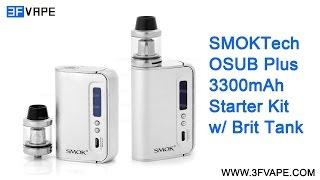 SMOKTech SMOK OSUB Furthermore 3300mAh Starter Kit Unboxing Evaluation
