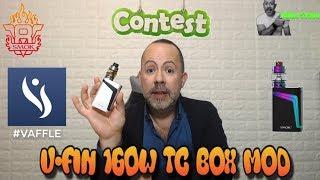 CHIUSO Contest #2 SMOK V-FIN 160W TC Box MOD 8000mAh #VAFFLE #SMOK – UnikoSvapo Recensione 2018