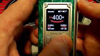 SMOK MAJESTY / Magazine / S Priv/Veneno Monitor Settings