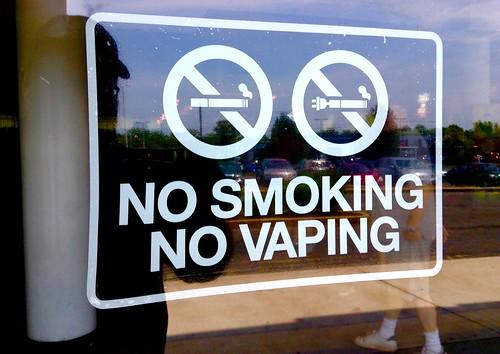 No Vaping Signal
