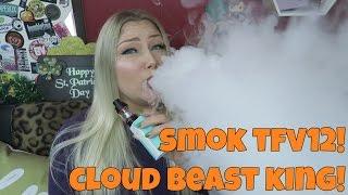Smoktech TFV12 Tank Cloud Beast King – VAPING AT 180WATTS! | TiaVapes Evaluation