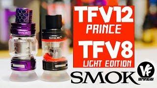 SMOK TFV12 Prince &amp TFV8 Large Baby Mild Version tanks – VapnFagan