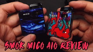 SMOK MICO POD review/ trying out the mesh and standard coil