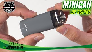 Minican by Aspire – Indonesia Vape Introduction