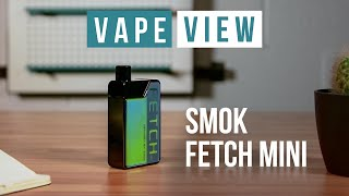 SMOK Fetch Mini Pod Kit (Unboxing Evaluation)