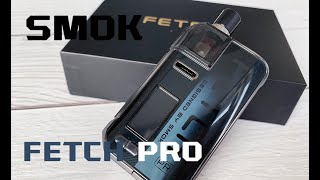 Smok Fetch Professional Pod Mod 80W Package Unboxing &amp Overview! Much better than Fetch Mini? ( Vapesourcing Overview )
