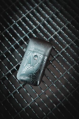 Zippo-Styled Electronic Cigarette/Vape