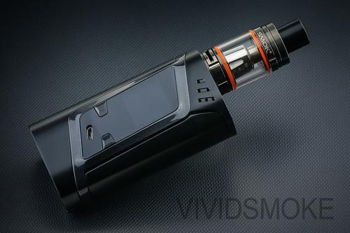 Smok Alien 220W Mod Gunmetal ft. Smok TFV8 Child Sub Ohm Tank Gunmetal
