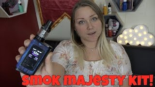 Smoktech Majesty 225W TC Package Evaluation ft. MommaVapes! | TiaVapes Evaluation