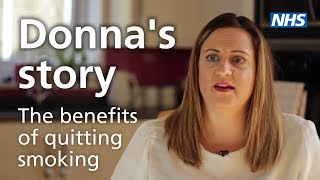 Donna&#39s tale – the advantages of quitting smoking