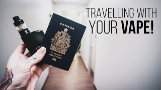 5 ideas for travelling with your VAPE!