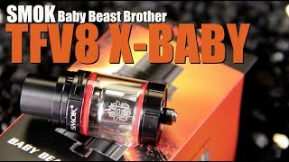 SMOK TFV8 X Little one Beast Brother ~Subohm Tank Evaluation~
