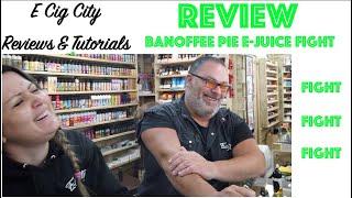 NEW!!! Banoffee Pie E-Juice Battle