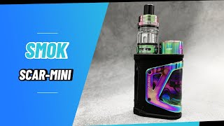 SMOK Scar-Mini Kit 80W with TFV9 Mini Tank Unboxing | Vapesourcing