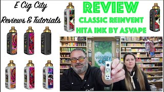 NEW!!! Asvape Hita Ink package – Review + Free Giveaway