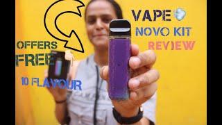 Smok VAPE 💨 NOVO Kit INDIA 🇮🇳 Review// 2019 🔥