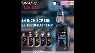 Authentic SMOK X PRIV Package Electronic Cigarette 225W X PRIV Box Mod