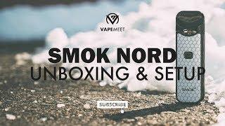 Smok Nord Unboxing &amp Set up